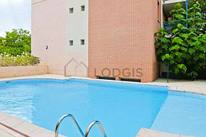 Apartment with pool in the building