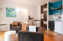 furnished studio Lyon 7